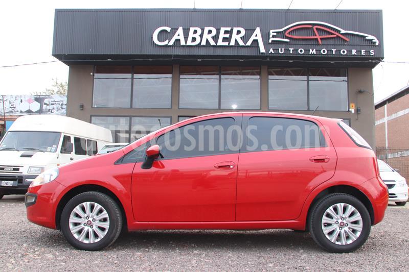 FIAT Punto 1.4 Attractive Pack Top 5Ptas. (87cv) (L13) usado (2016) color Rojo precio $850.000