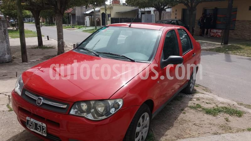 FIAT Siena EL 1.4 usado (2011) color Rojo Barroco precio $400.000