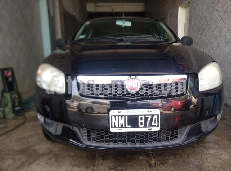 FIAT Siena EL 1.4 usado (2013) color Negro Vulcano precio $410.000