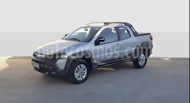 FIAT Strada Adventure 1.6 CD 3P Pack Top + Pack Xtreme III usado (2019) color Gris Claro precio $860.000