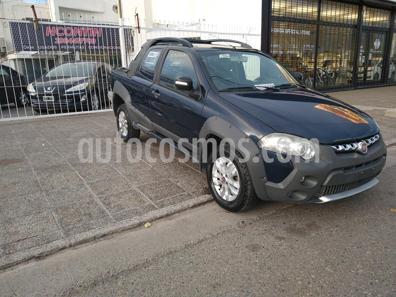 FIAT Strada Adventure 1.6 CD 3P Pack Top + Pack Xtreme III usado (2014) color Azul Buzios precio $11.111.110