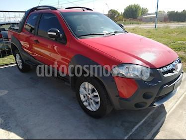 FIAT Strada Adventure 1.6 Cabina Doble Seguridad usado (2014) color Rojo Alpine precio $650.000