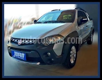 FIAT Strada Adventure 1.6 usado (2014) color Gris Claro precio $525.000