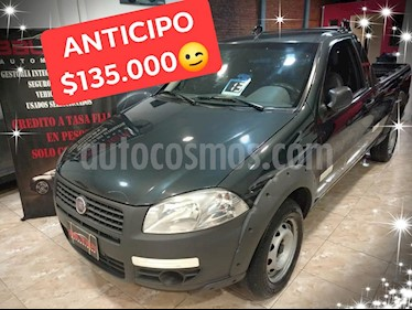 Foto venta Auto usado Fiat Strada Trekking 1.4 Fire (2011) color Gris Oscuro precio $135.000