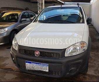Foto venta Auto usado Fiat Strada Trekking 1.4 (2017) color Blanco precio $330.000