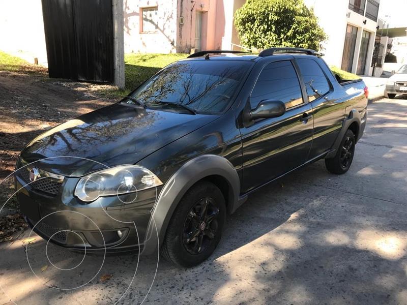 FIAT Strada Trekking 1.3 Multijet Cabina Doble 3 Puertas usado (2014) color Negro Vulcano precio $980.000