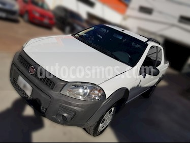 Foto venta Auto usado Fiat Strada Working 1.4 Cabina Doble (2015) color Blanco Banquise precio $199.800