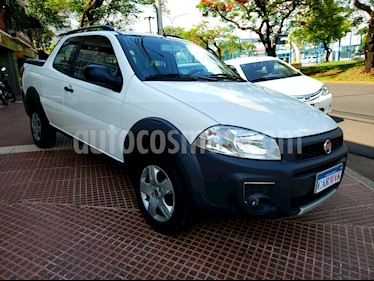 FIAT Strada Working 1.4 Cabina Doble usado (2017) color Blanco precio $634.990
