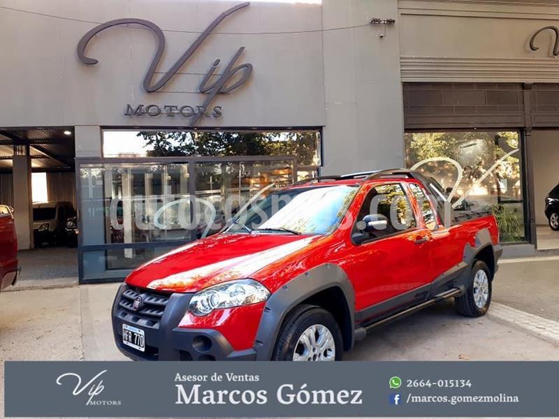 FIAT Strada Working 1.7 Cabina Extendida TD usado (2009) color Rojo precio $780.000