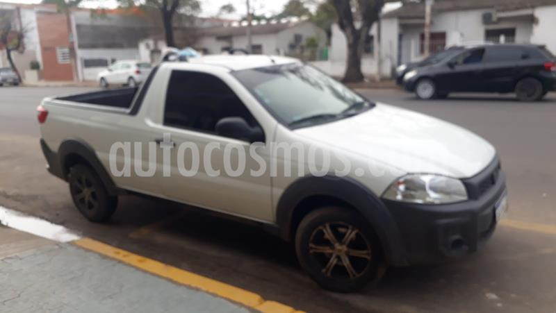 FIAT Strada Working 1.4 Cabina Simple Ac usado (2017) color Blanco precio $590.000