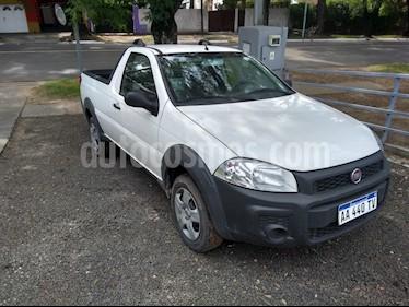 FIAT Strada Working 1.4 Cabina Simple usado (2016) color Blanco Banquise precio $485.000