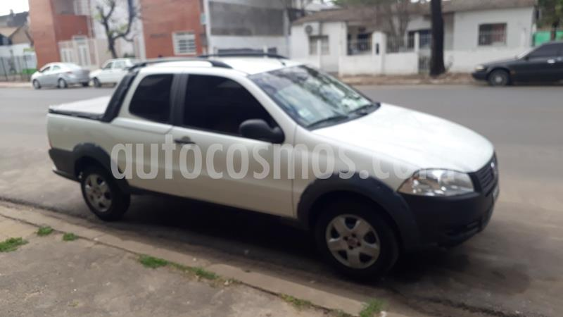 FIAT Strada Working 1.4 Cabina Doble usado (2014) color Blanco Banquise precio $650.000