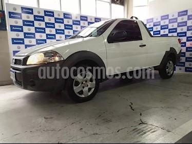 FIAT Strada Working 1.4 Cabina Simple usado (2017) color Blanco precio $530.000
