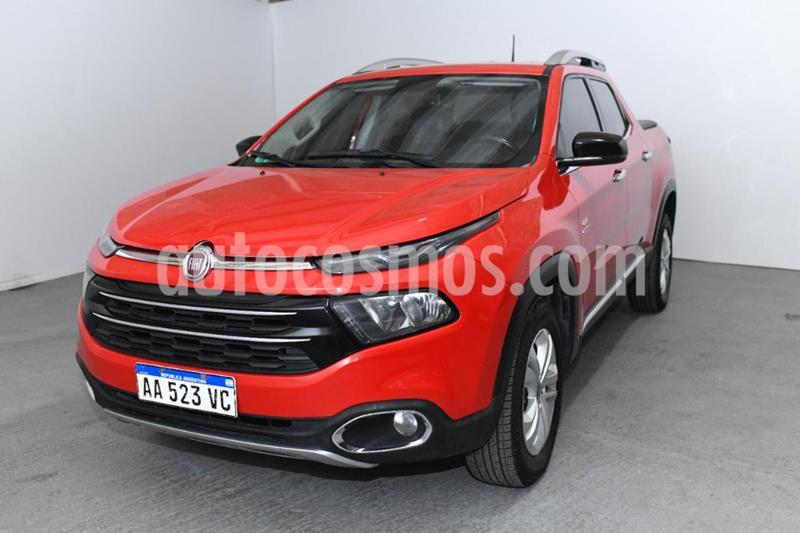 FIAT Toro Volcano 4x4 CD Aut usado (2016) color Rojo precio $1.450.000