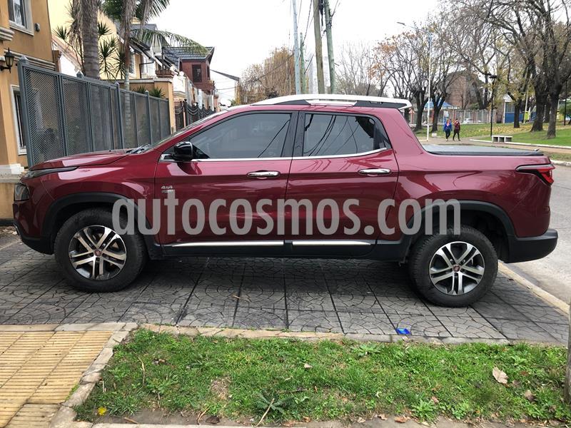 FIAT Toro 2.0 TDi Volcano 4x4 CD Aut Pack Premium usado (2017) color Rojo Obscuro precio $1.670.000