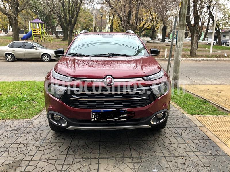 FIAT Toro 2.0 TDi Volcano 4x4 CD Aut Pack Premium usado (2017) color Rojo Obscuro precio $1.950.000