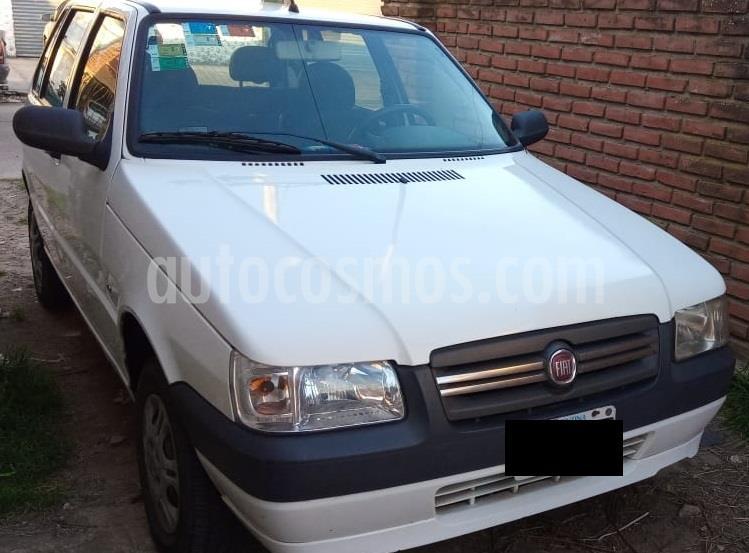 FIAT Uno Fire 5P usado (2013) color Blanco precio $350.000