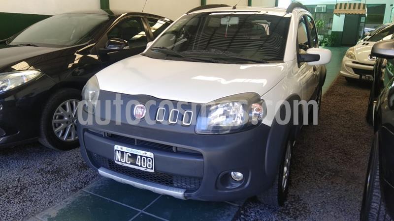 FIAT Uno Fire 5P Way usado (2013) color Blanco precio $575.000