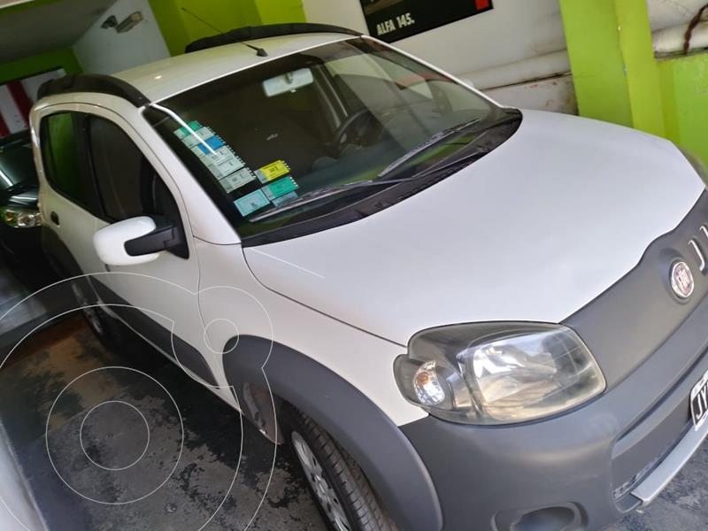 FIAT Uno 5P 1.4 Fire Evo Way usado (2011) color Blanco Banchisa precio $550.000