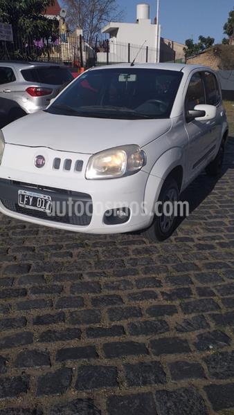 FIAT Uno 5P 1.4 Fire Evo Attractive Pack Electrico usado (2011) color Blanco Banquise precio $345.000