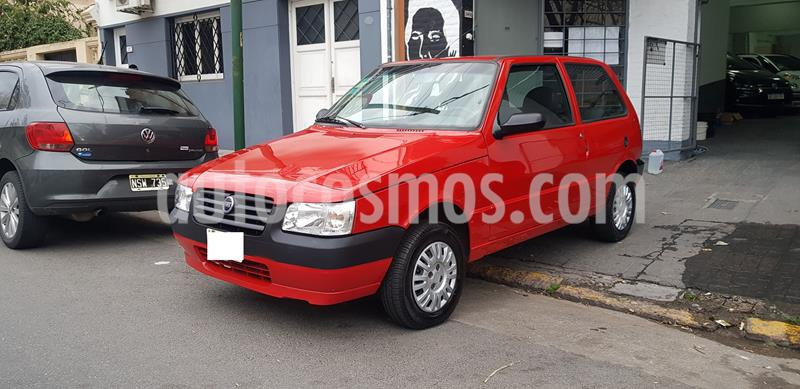 FIAT Uno 3P 1.3 Fire Confort usado (2008) color Rojo Barroco precio $259.000
