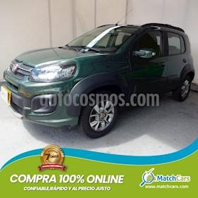 Fiat Uno 1.4 Way usado (2019) color Verde precio $28.990.000