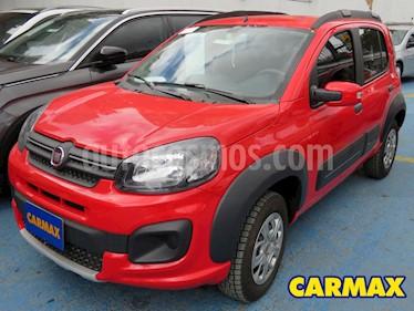 Fiat Uno 1.4L Way Pop usado (2020) color Rojo precio $33.900.000