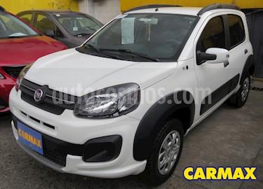 Fiat Uno 1.4 Way usado (2020) color Blanco precio $35.900.000