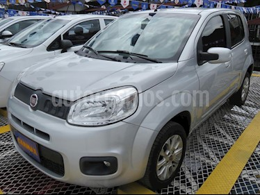 Fiat Uno 1.4L Attractive usado (2016) color Plata precio $26.900.000