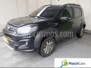 Fiat Uno 1.4 Way usado (2018) color Negro Vulcano precio $28.990.000