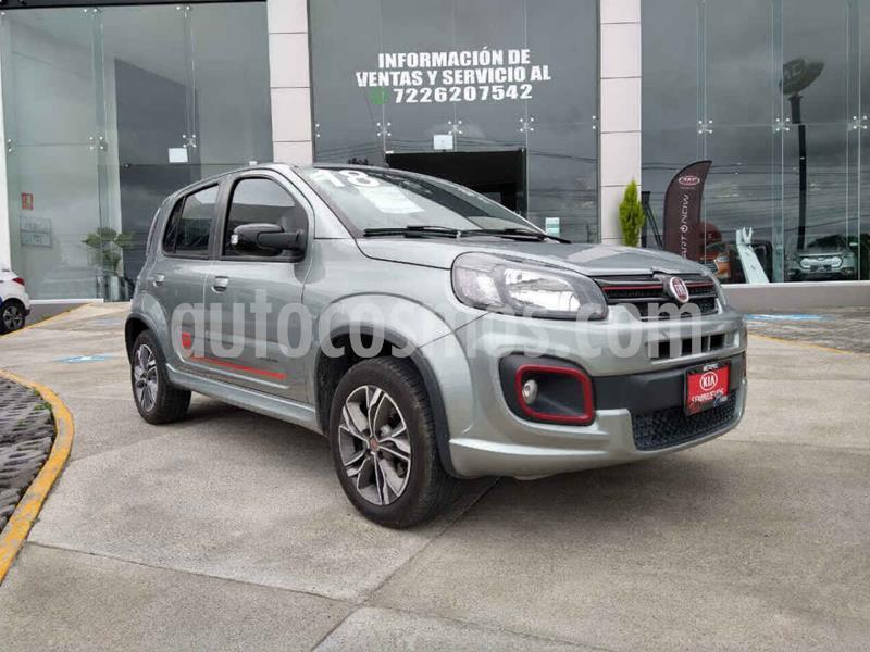 Fiat Uno Sporting usado (2018) color Gris precio $169,900