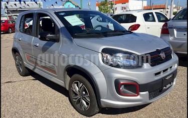 Fiat Uno Sporting usado (2019) color Plata precio $188,000