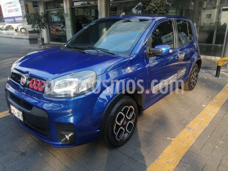 Fiat Uno Sporting usado (2016) color Azul precio $136,000