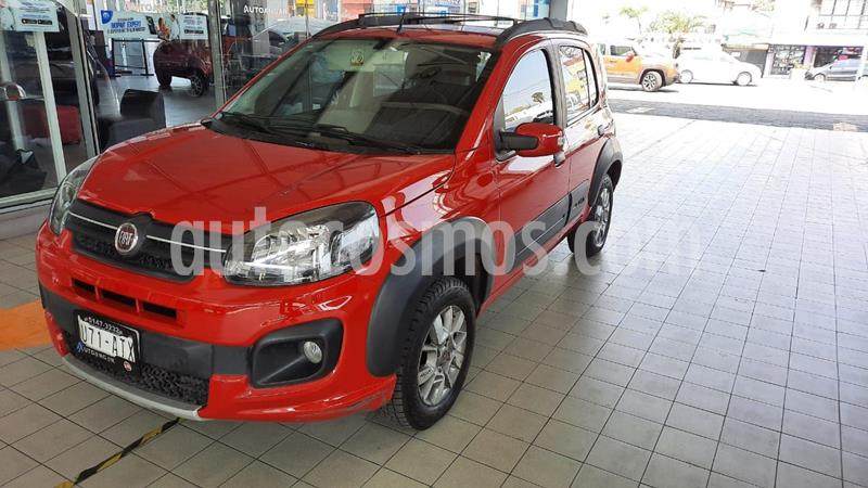 Fiat Uno Way usado (2018) color Rojo precio $159,000