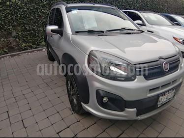 Fiat Uno Attractive usado (2017) color Plata precio $150,000