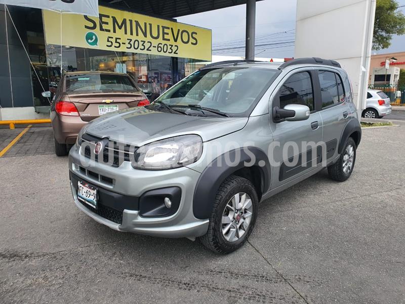 Fiat Uno 1.4L usado (2018) color Gris precio $159,000