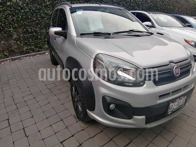 Fiat Uno Way usado (2017) color Plata precio $150,000