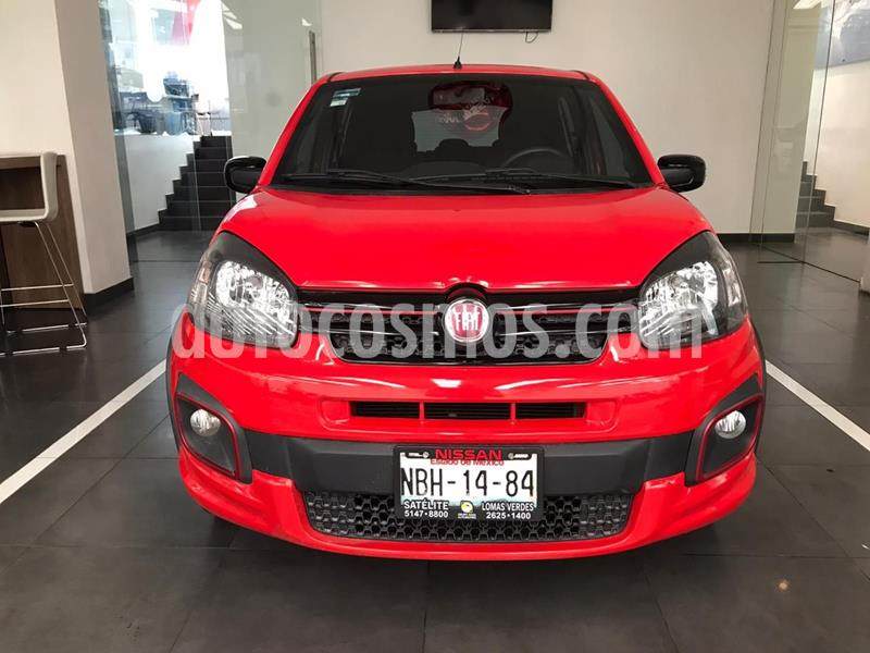 Fiat Uno Sporting usado (2017) color Rojo precio $155,500