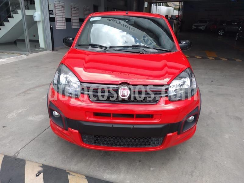 Fiat Uno Sporting usado (2019) color Rojo precio $198,000