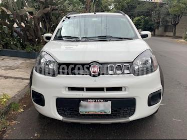 Fiat Uno Way usado (2015) color Blanco precio $110,000