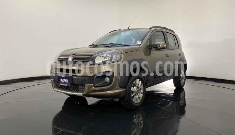 Fiat Uno Way usado (2018) color Cafe precio $174,999