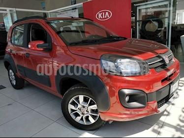 Fiat Uno Way usado (2017) color Rojo precio $155,000