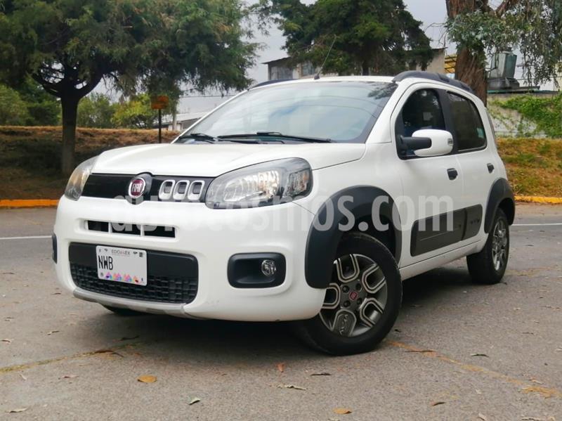 Fiat Uno Way usado (2015) color Blanco precio $120,000