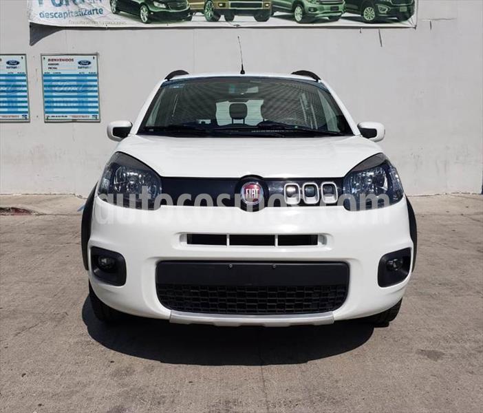 Fiat Uno WAY MANUAL usado (2015) color Blanco precio $120,000