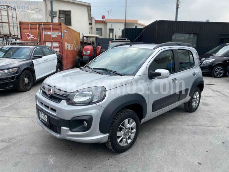 Fiat Uno Way usado (2018) color Plata precio $148,800
