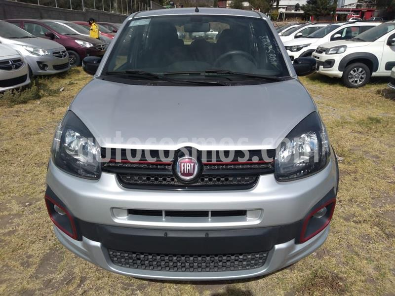 Fiat Uno Sporting usado (2019) color Plata Dorado precio $179,500