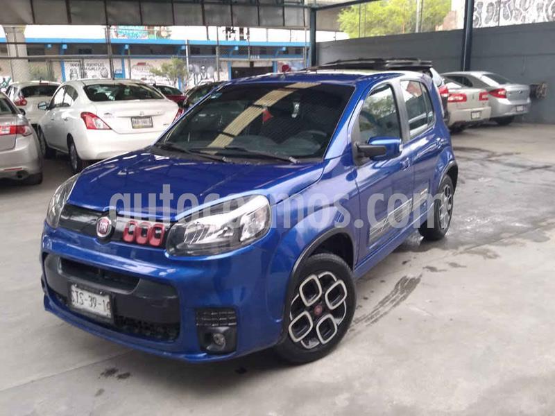 Fiat Uno Sporting usado (2016) color Azul precio $145,000