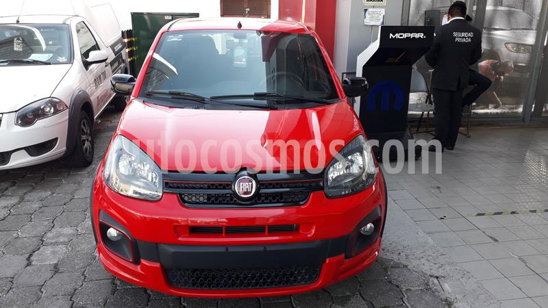 Fiat Uno Sporting usado (2019) color Rojo precio $185,000