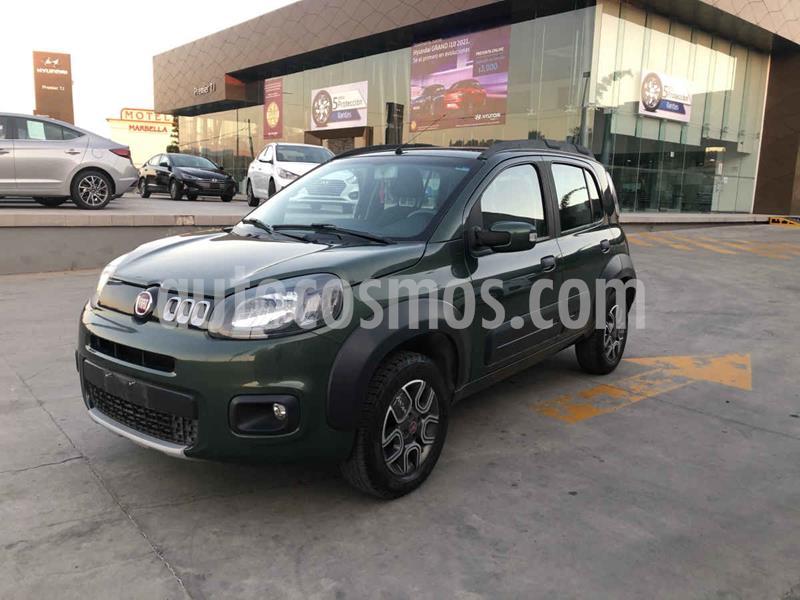 Fiat Uno Way usado (2016) color Verde precio $129,000