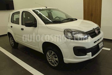 Fiat Uno 5p Attractive usado (2018) color Blanco precio $159,000